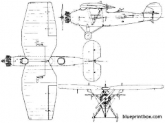 blackburn r2 airedale 1925 england model airplane plan
