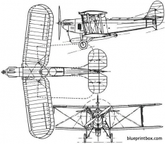 blackburn t5 ripon 1926 england model airplane plan