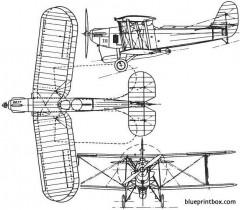 blackburn t5 ripon 1926 england model airplane plan