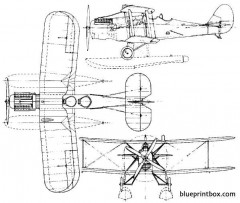 blackburn tr1 sprat 1926 england model airplane plan