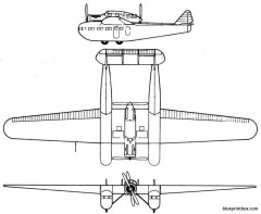bleriot 125 model airplane plan