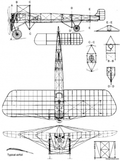 bleriot xi 3 model airplane plan
