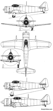 bloch 150 a model airplane plan