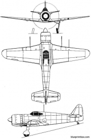 bloch 155 model airplane plan