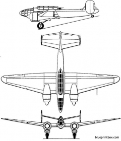 bloch mb 175 model airplane plan