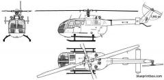 bo105 cbs model airplane plan