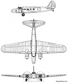 boeing 247 model airplane plan