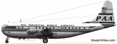 boeing 377 stratocruiser 02 model airplane plan