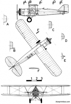boeing 40a model airplane plan