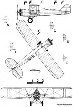 boeing 40a model airplane plan