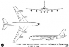 boeing 720 model airplane plan