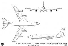 boeing 720 model airplane plan