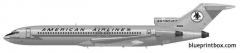 boeing 727 200 02 model airplane plan