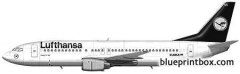 boeing 737 400 02 model airplane plan