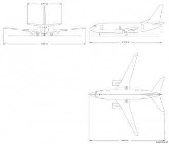 3 Views of Airplanes for Model Airplane BuildingAeroFred