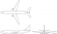 boeing 737 900 model airplane plan