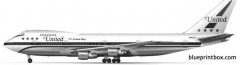 boeing 747 03 model airplane plan