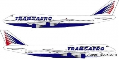 boeing 747 300 model airplane plan