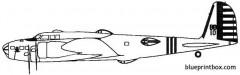 boeing b 17b flying fortress model airplane plan
