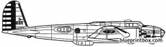 boeing b 17d flying fortress model airplane plan
