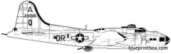boeing b 17f flying fortress memphis bell model airplane plan