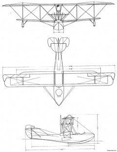boeing b 1 model6 model airplane plan
