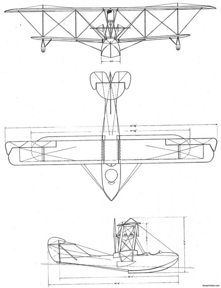 boeing b 1 model6 model airplane plan