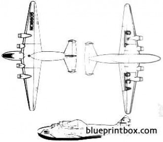 boeing b 314 clipper model airplane plan