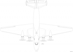boeing b 314 clipper 06 model airplane plan