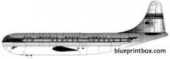 boeing b 377 stratocruiser model airplane plan