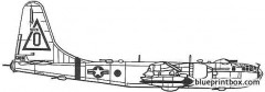 boeing b 50d superfortress model airplane plan