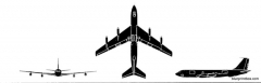boeing c 135 stratolifter model airplane plan