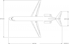 boeing dc9 51 model airplane plan