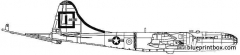boeing kb 29f superfortress tanker model airplane plan