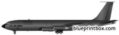 boeing kc 135 stratotanker model airplane plan