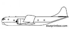 boeing kc 97 model airplane plan