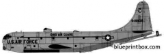 boeing kc 97l stratotanker model airplane plan