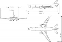 boeing md11a model airplane plan