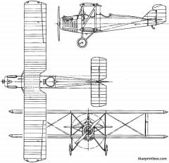 boeing model 21  nb 1924 usa model airplane plan