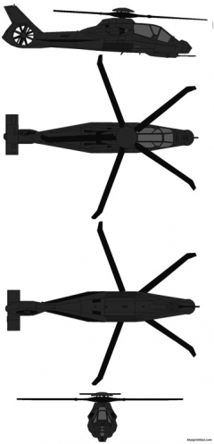 boeing sikorsky rah 66 comanche model airplane plan