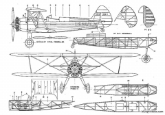 boeing stearman pt 17 kaydet model airplane plan
