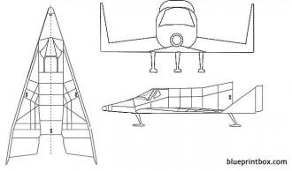 boeing x 20 dynasoar model airplane plan