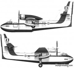 bombardier canadair cl 215 model airplane plan