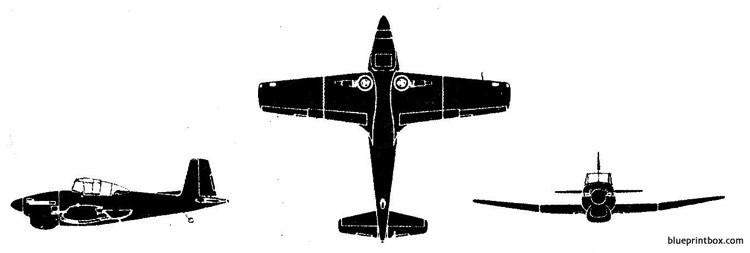 boulton paul balloil t mk2 model airplane plan