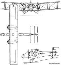 boulton paul p25 bugle 1923 england model airplane plan