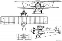 boulton paul p33 partridge 1928 england model airplane plan