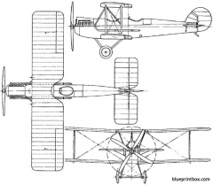boulton paul p9 1919 england model airplane plan