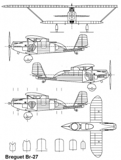 br27 1 3v model airplane plan