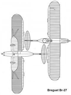 br27 2 3v model airplane plan
