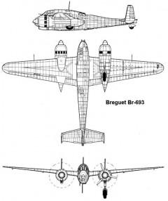 br693 3v model airplane plan